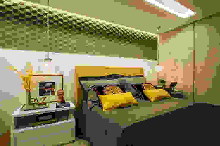 Habitaciones de estilo clásico de Cris Nunes Arquiteta Clásico