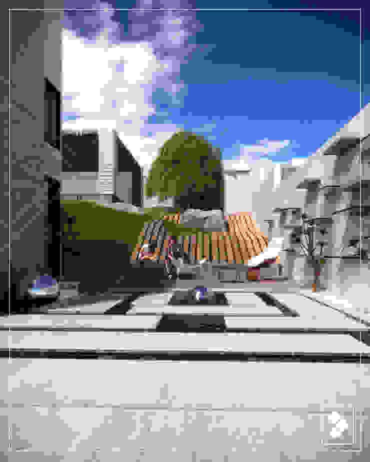 Jardín Jardines modernos de CDR CONSTRUCTORA Moderno