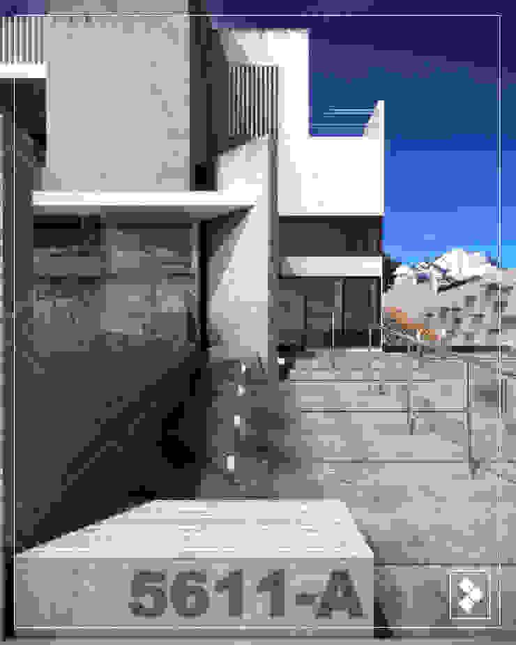 Fachda Interior Casas modernas de CDR CONSTRUCTORA Moderno