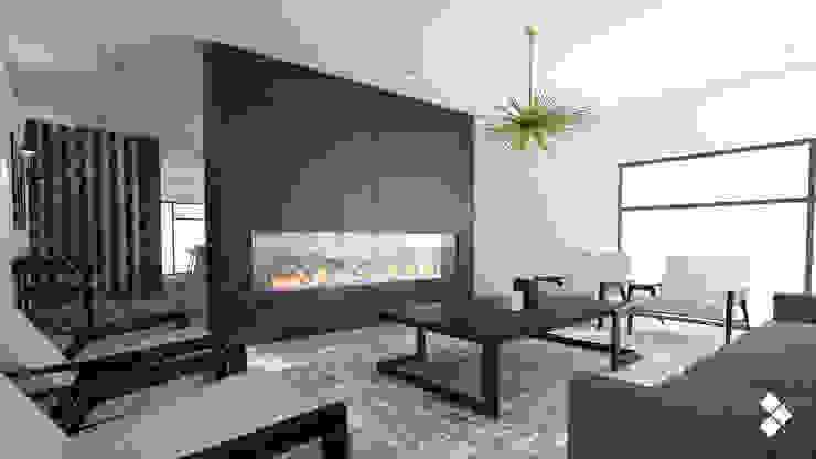 Casa IL Salones modernos de CDR CONSTRUCTORA Moderno