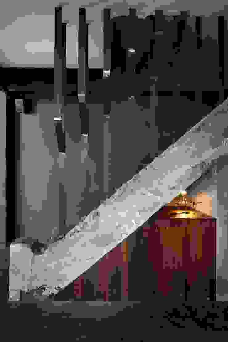 STARSIS 玄關、走廊與階梯階梯 金屬 Metallic/Silver