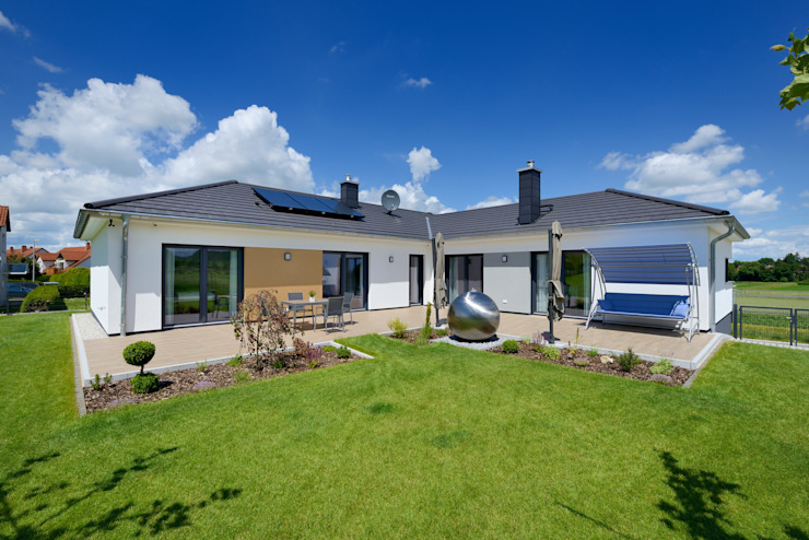 Дома в стиле модерн от Heinz von Heiden GmbH Massivhäuser Модерн