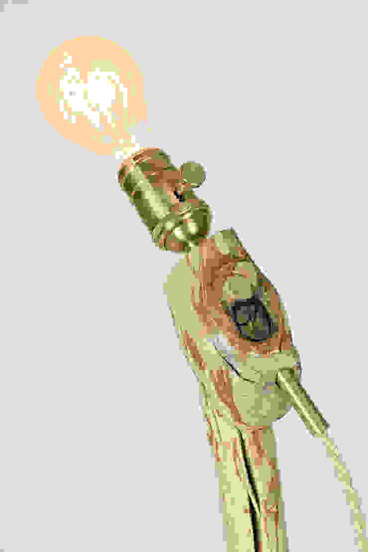 "Lamp ""Skier I"" by Meble Autorskie Jurkowski Кантрi Дерево Дерев'яні"