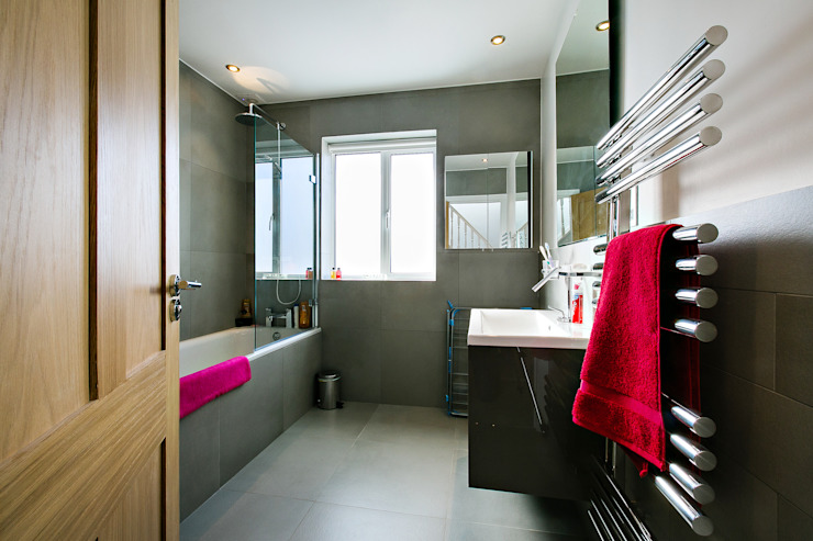 bathroom - after :   by POWER 2 BUILD LTD,