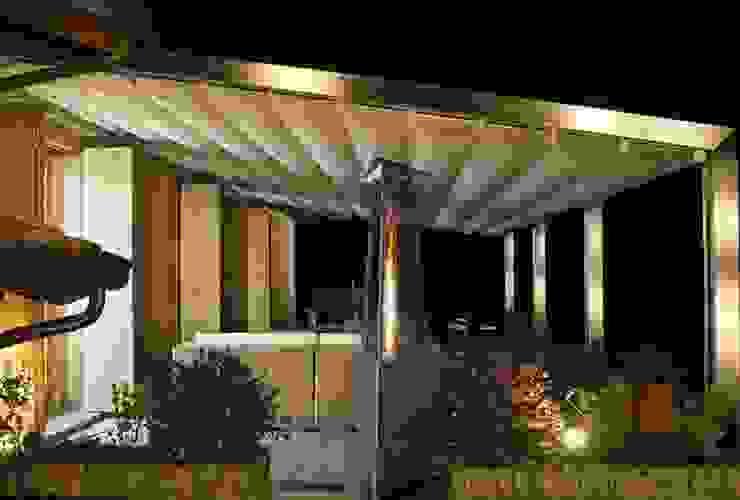 Design-Heizstrahler für die Terrasse