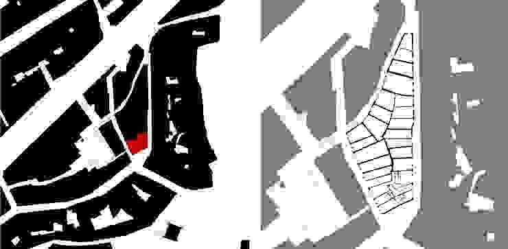 implantação Casas minimalistas por AR arquitectura Minimalista