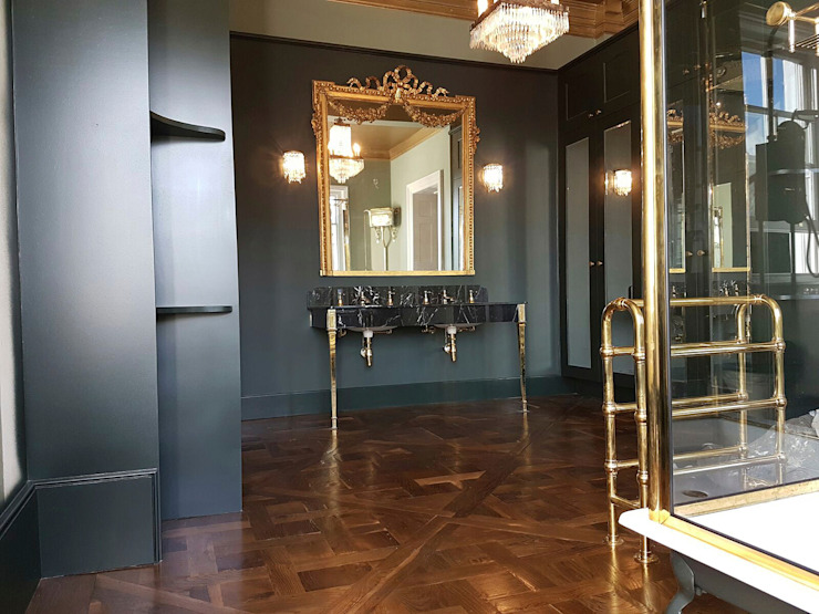 Bathroom by The British Wood Flooring Company