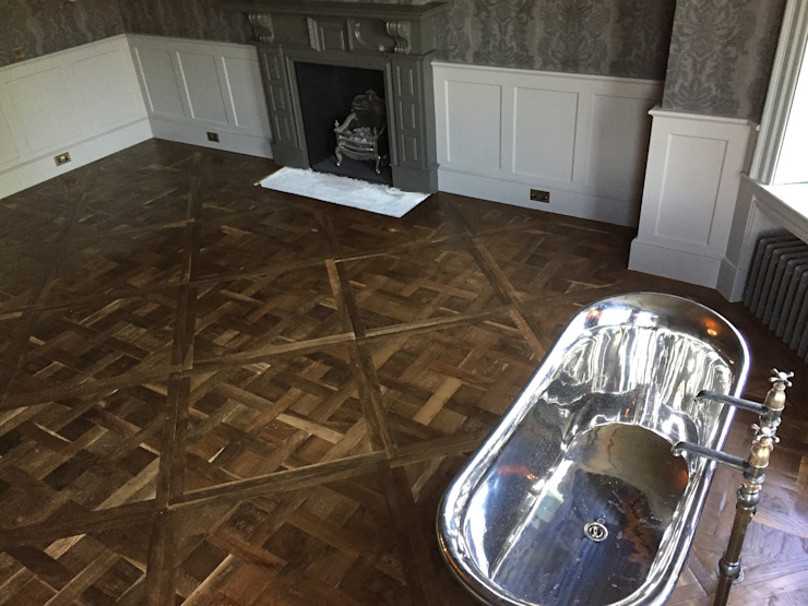 Parquet de Versailles Classic style bathroom by The British Wood Flooring Company Classic