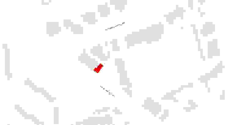 implantação Lojas e Espaços comerciais minimalistas por AR arquitectura Minimalista