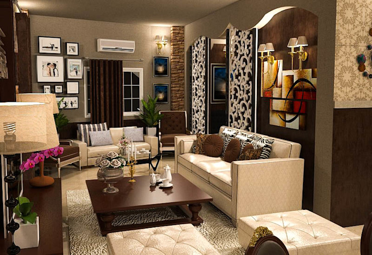La Cour Classic style living room