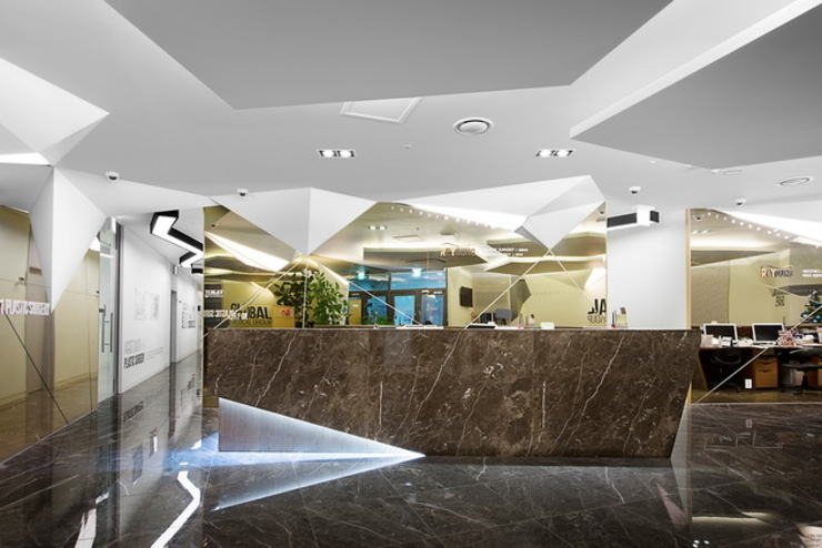 STARSIS Office spaces & stores Kaca Amber/Gold