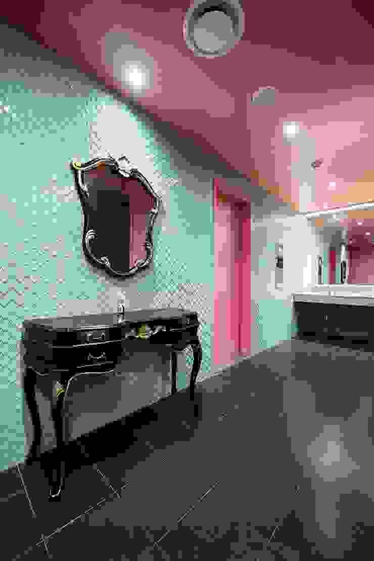 강남 리영클리닉 아시아스타일 욕실 by STARSIS 한옥 유리