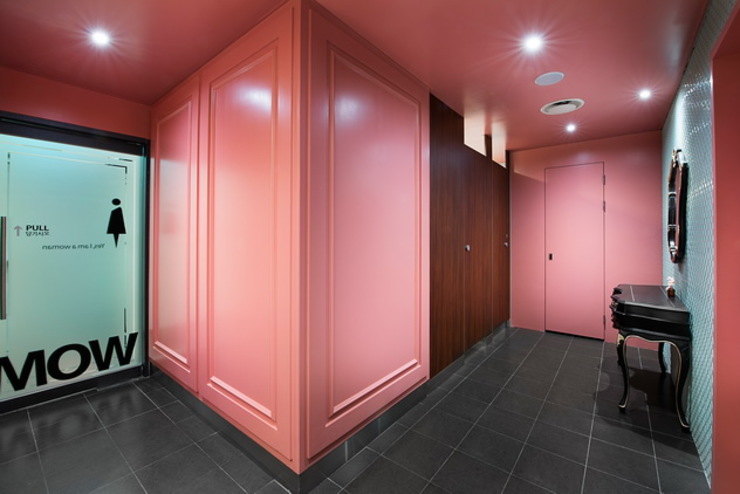 STARSIS Asian style bathroom Wood Pink