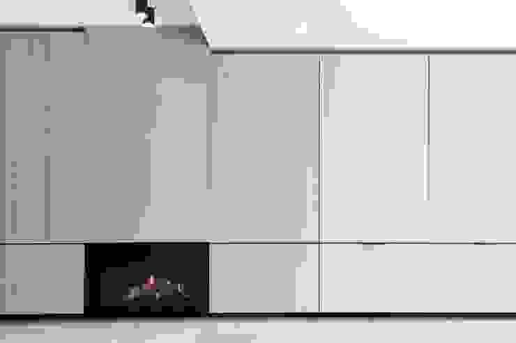 Project K Moderne woonkamers van JUMA architects Modern