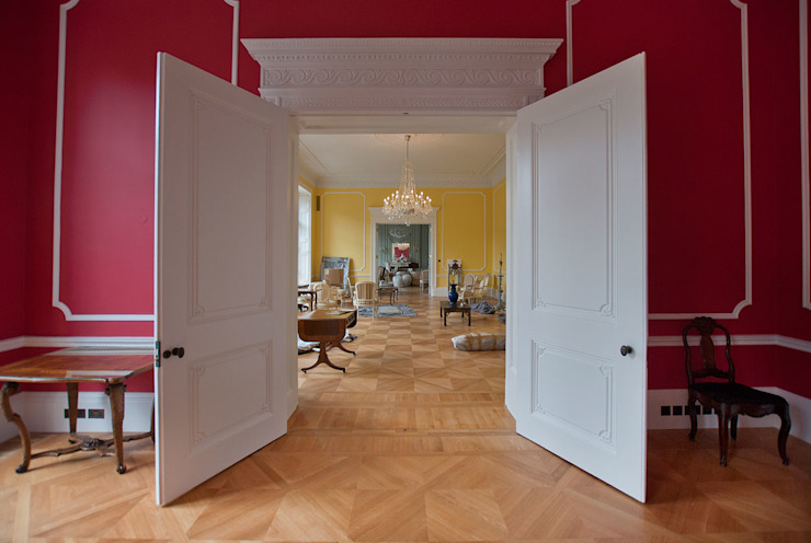 German Embassy Residence (Grade I Listed) Classic office buildings by ÜberRaum Architects Classic