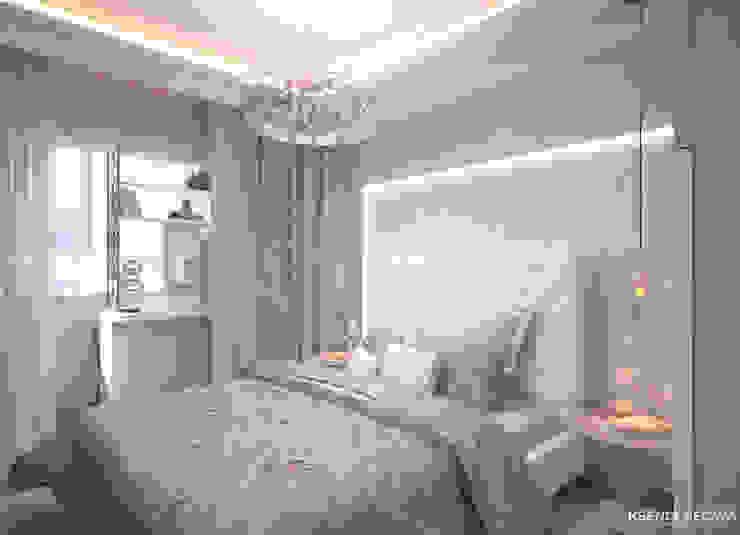 غرفة نوم تنفيذ Студия Ксении Седой, إنتقائي