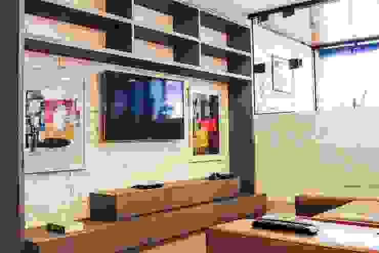 Salas de estilo rústico de Mariana Mendonça Arquitetura Rústico