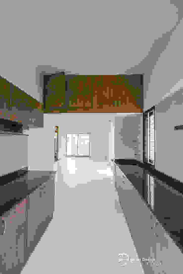 Rekha Raju Residence Modern Kitchen by Etagi Design Collaborative Modern