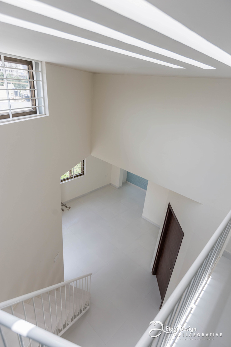 Rekha Raju Residence Modern Study Room and Home Office by Etagi Design Collaborative Modern