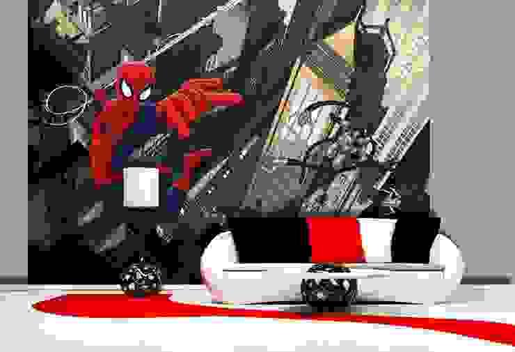 Papel de parede Wallpaper www.intense-mobiliario.com SPIDER MAN por Intense mobiliário e interiores; Moderno
