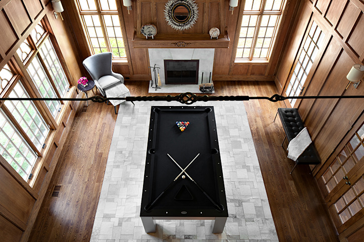 Game Room Modern living room by Clean Design Modern