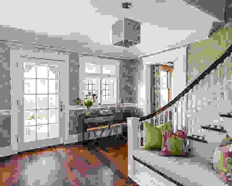 Foyer Modern corridor, hallway & stairs by Clean Design Modern