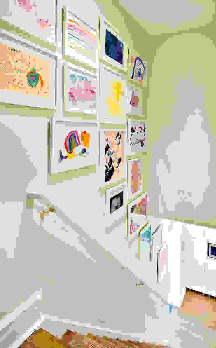 Stairs Clean Design Modern corridor, hallway & stairs
