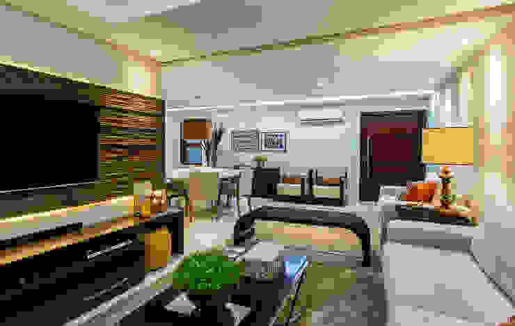 Classic style living room by Cris Nunes Arquiteta Classic