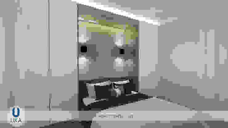 Yazlık ev izmir çeşme boyalık Minimalist bedroom by Uka İçmimarlık Minimalist MDF
