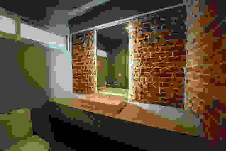 MCI DF - P+0 Arquitectura Baños de estilo moderno de pmasceroarquitectura Moderno Concreto