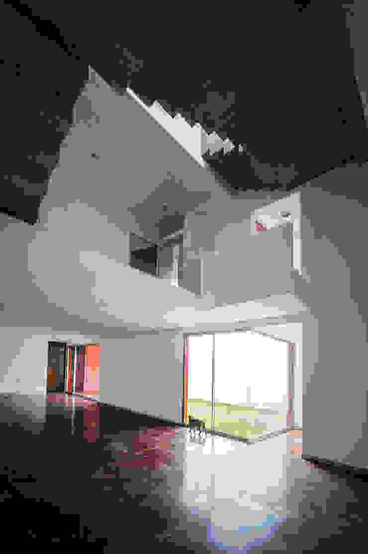Casas CS - P+0 Arquitectura Pasillos, vestíbulos y escaleras modernos de pmasceroarquitectura Moderno Concreto