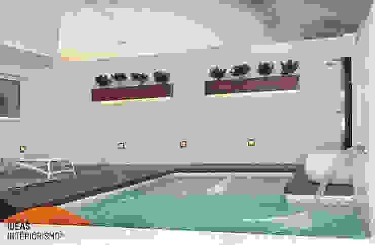 Terraza de diseño en Valencia. Balcones y terrazas mediterráneos de Ideas Interiorismo Exclusivo, SLU Mediterráneo