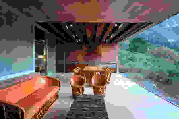 Casa Narigua - P+0 Arquitectura Casas de estilo moderno de pmasceroarquitectura Moderno Hormigón