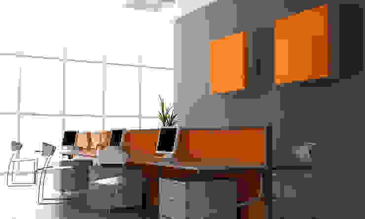 Zenolite es perfecto para aplicaciones comerciales, oficinas y el hogar. Oficinas de estilo moderno de FORMICA Venezuela Moderno
