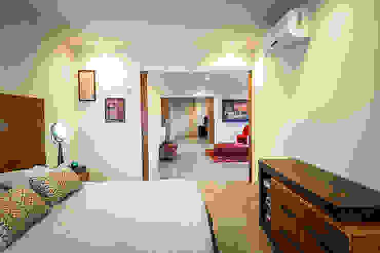 Casa IPE - P+0 Arquitectura Dormitorios modernos de pmasceroarquitectura Moderno Concreto