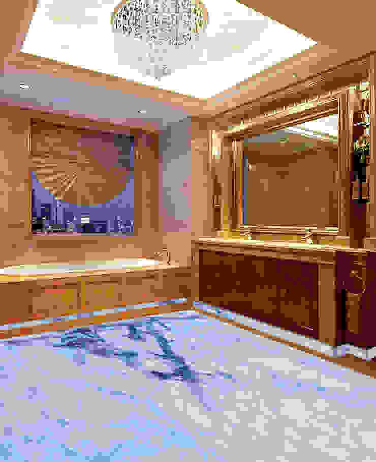 Elalux Tile Modern bathroom Marble Blue