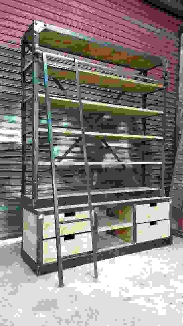 Organizador :  de estilo industrial por Algo de Mi,Industrial Hierro/Acero