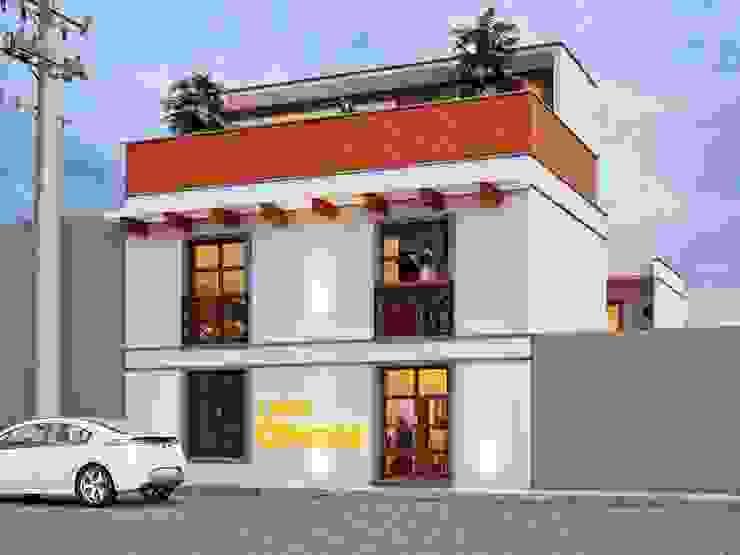 Hostal Oriente Hoteles de estilo ecléctico de LOFT ESTUDIO arquitectura y diseño Ecléctico Cerámico