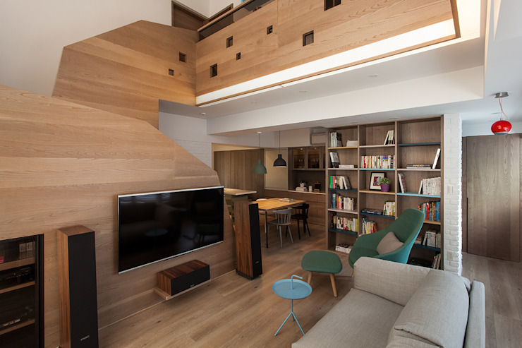 折‧日景 Transition Luminos View 根據 禾光室內裝修設計 ─ Her Guang Design 北歐風