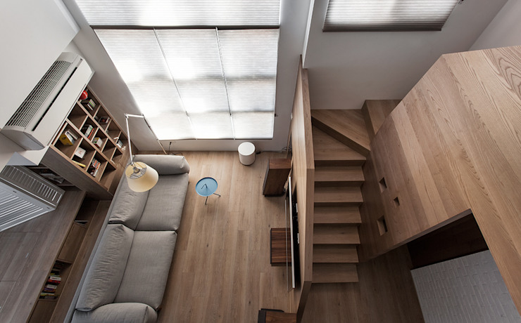Salas de estar  por 禾光室內裝修設計 ─ Her Guang Design