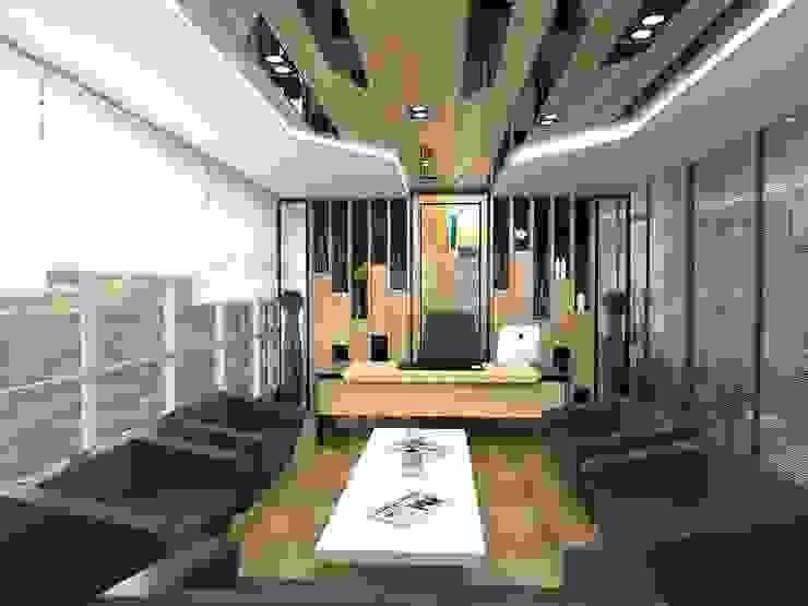 MAQAM OFFİCE Modern Çalışma Odası Murat Aksel Architecture Modern Masif Ahşap Rengarenk