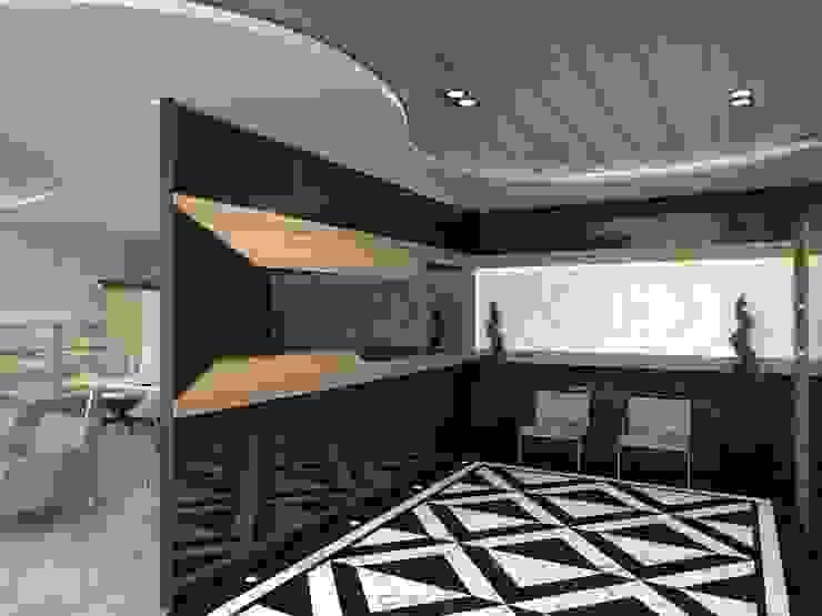 MAQAM OFFİCE Modern Çalışma Odası Murat Aksel Architecture Modern Mermer