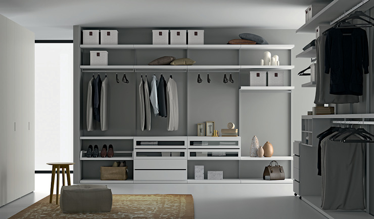 Easy Project Dall'Agnese BedroomWardrobes & closets