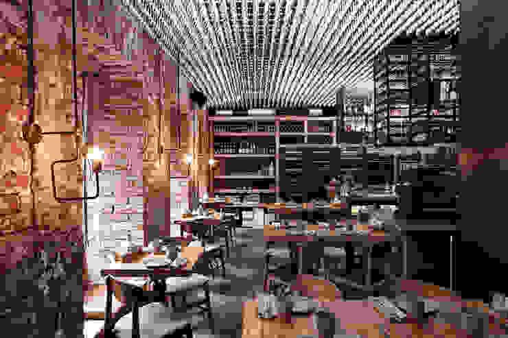 Номинация традиции: общественный интерьер Modern Dining Room by Archiprofi Modern