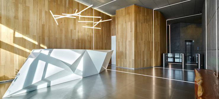 Номинация новаторство: общественный интерьер Modern Study Room and Home Office by Archiprofi Modern