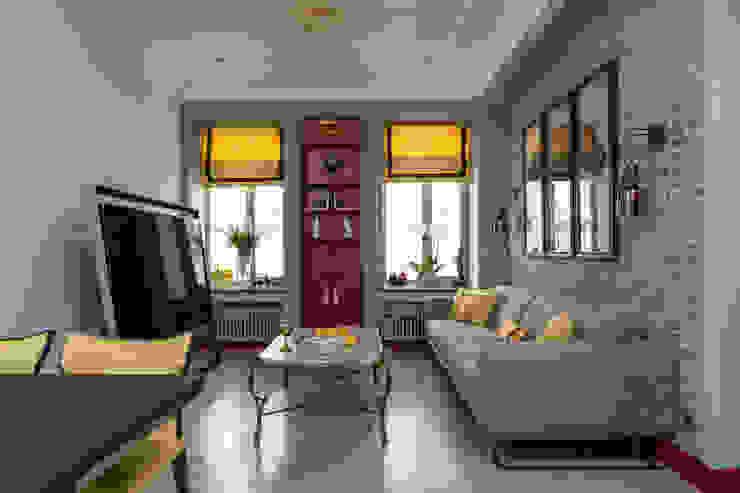 Приз симпатий от archiprofi.ru Modern Living Room by Archiprofi Modern