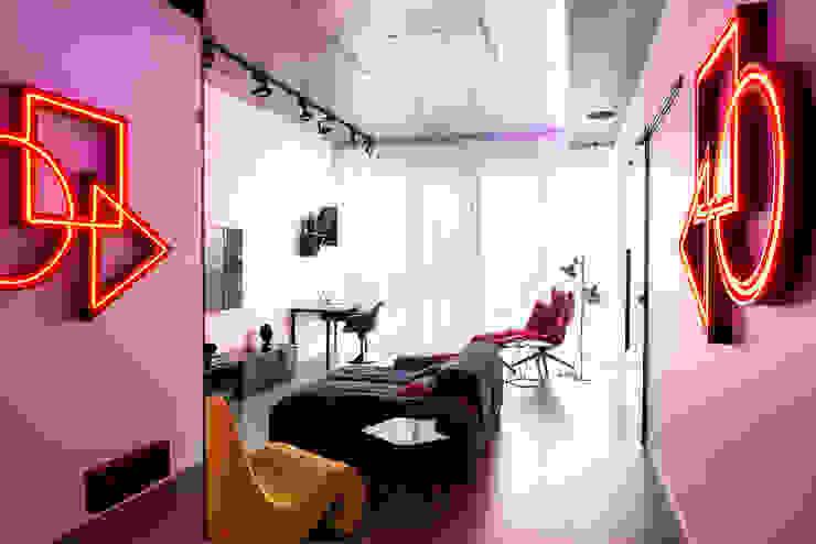 Приз общественного жюри Modern Living Room by Archiprofi Modern