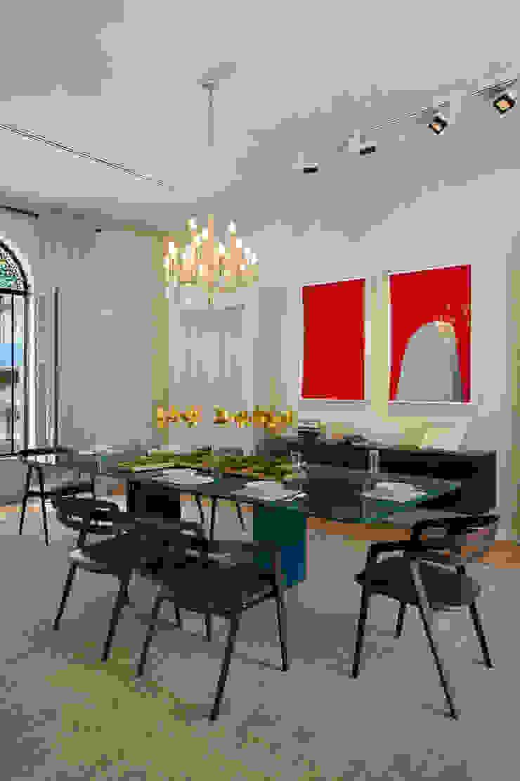 Gisele Taranto Arquitetura Comedores de estilo moderno