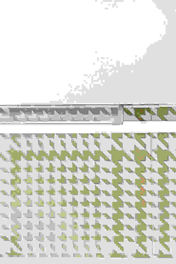 ArchEnjoy Studio Modern style kitchen Ceramic White