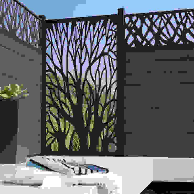 Modern garden by NATUREL METAL FERFORJE Modern Iron/Steel
